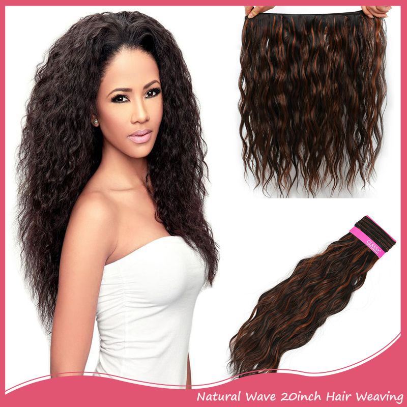 120g 20inch 50cm Synthetic Hair Extension