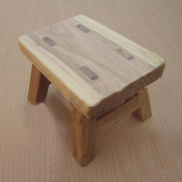Aliexpress Com Buy Wood Children S Stools Log Color Mini Kid Shoe