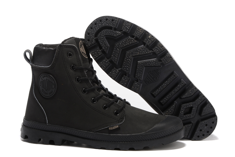 PALLADIUM Pampa Solid Ranger Winter Boots All Black Men High-top Ankle Boots Comfortable High Quality Lace Up Men Working Boots high quality iss g200 1 pb niagara2250 60 pci sales all kinds of motherboard