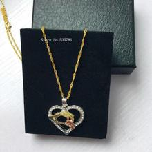 Mom Necklace Baby Heart Pendant
