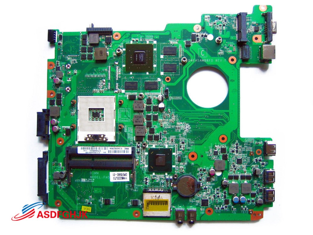 Genuine CP515980 XX for Fujitsu Lifebook A530 A531 AH530 AH531 laptop Motherboard with GT525M DAFH5AMB8F0 100