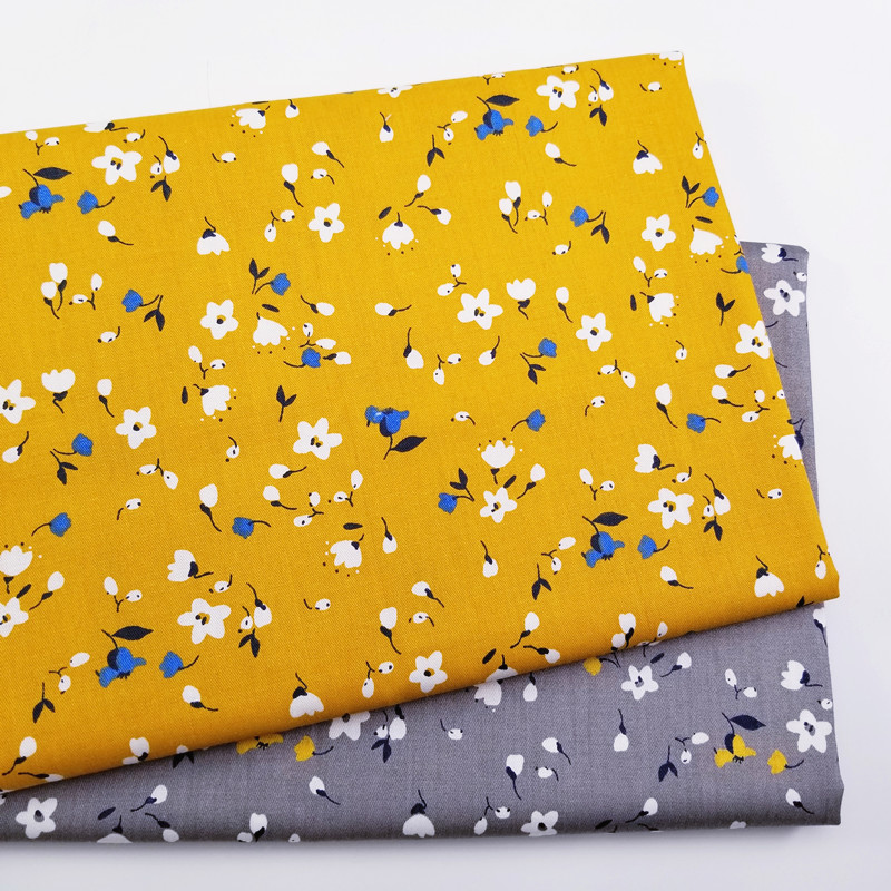 50x40cm Flower Series Cotton fabric DIY sewing uphostery craft for Baby&Children Quilting Sheets Dress Material