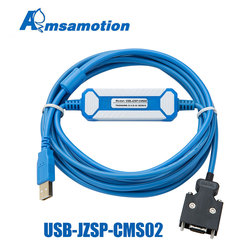USB-JZSP-CMS02 adecuado Cable de programación de servodepuración de la serie kaskawa Sigma-II/Sigma-III SGM a servopaquetes de Cable