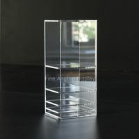 Desktop Acrylic Jewelry Display Shelf Boxes Hair Accessories Holder