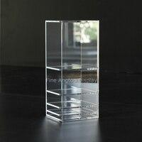 Desktop Acrylic Jewelry Display Shelf Boxes Hair Accessories Holder