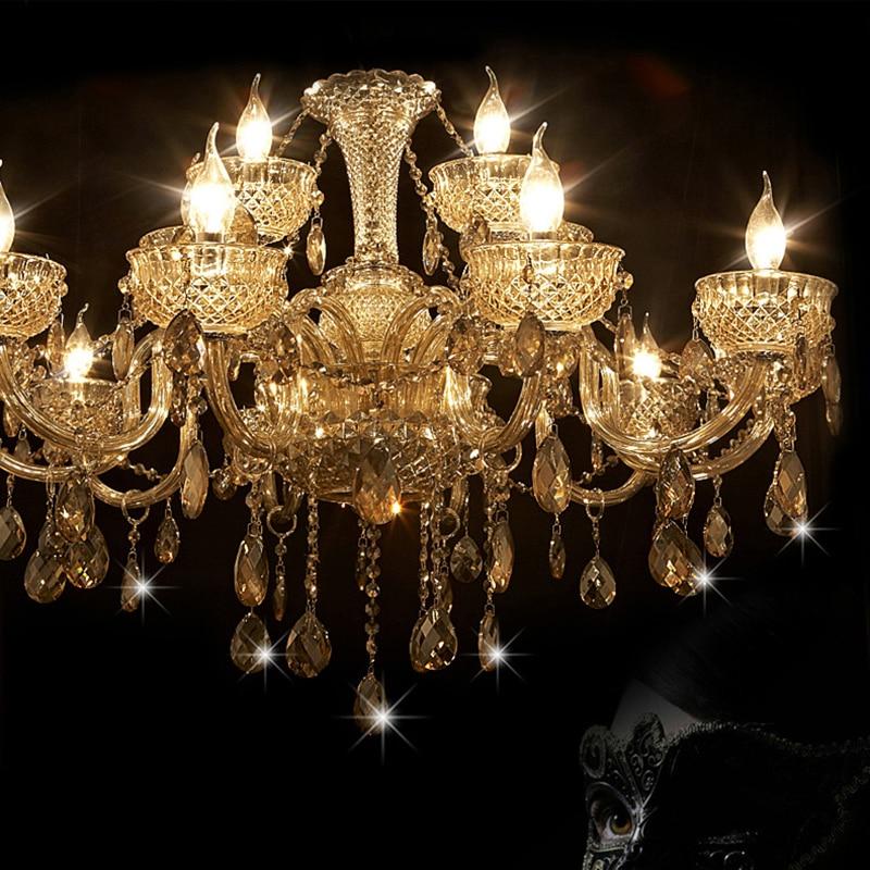 Chandelier 8 Modern Crystal Chandeliers Light Moderne Kronleuchter