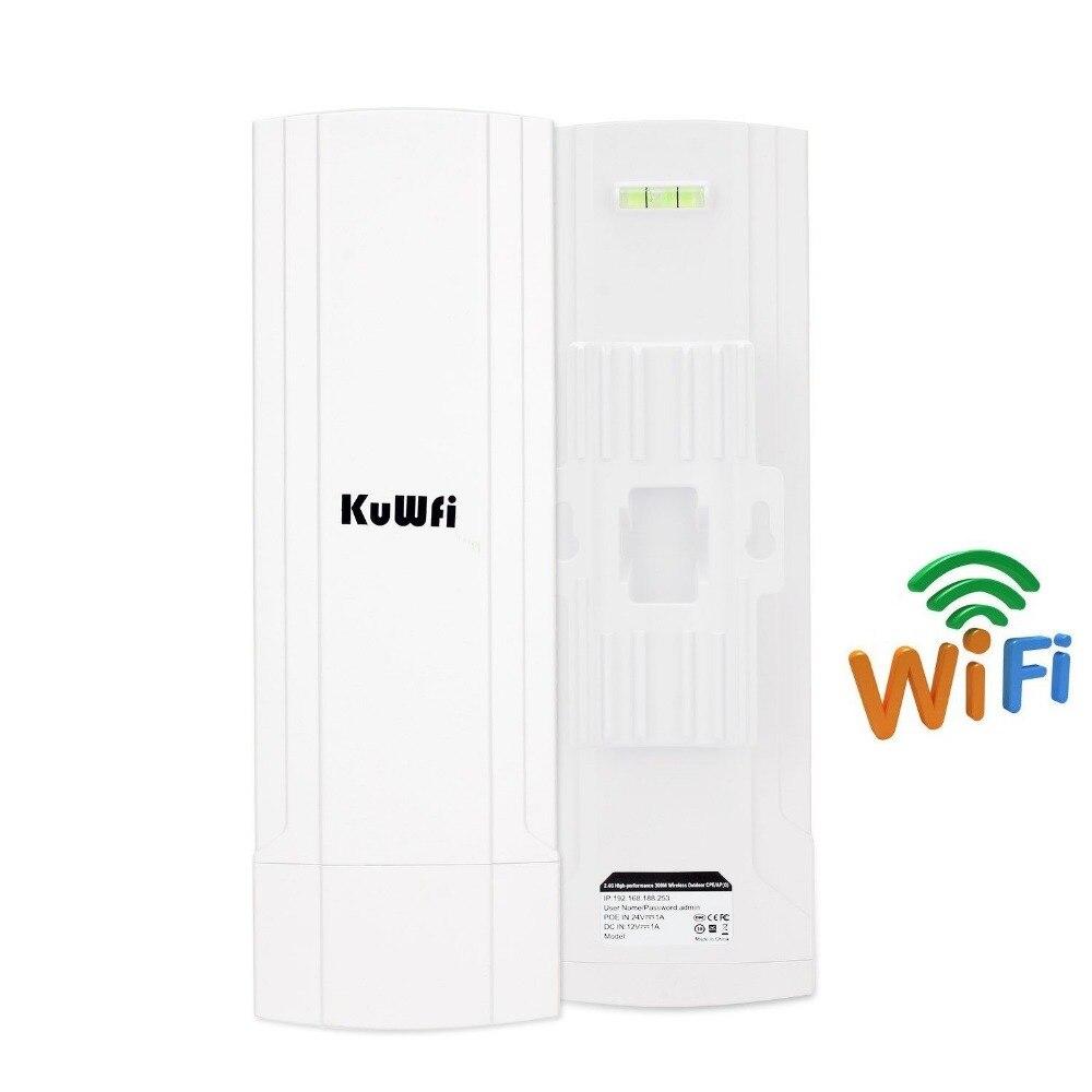 Image 2 - 3 км Открытый водонепроницаемый беспроводной роутер CPE 150 Мбит/с Wifi мост Wifi ретранслятор Wifi расширитель с 12Dbi антенной-in Беспроводные маршрутизаторы from Компьютер и офис