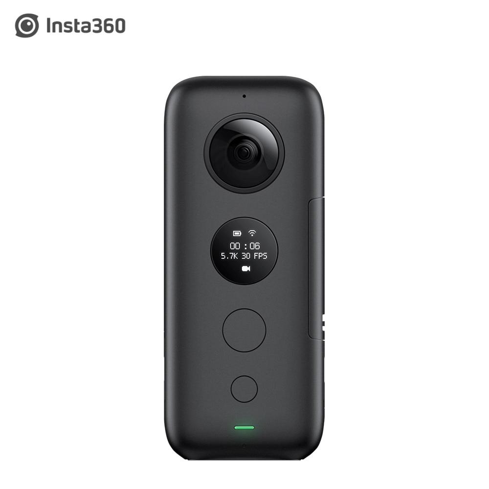 Caméra d'action Insta360 ONE X 5.7 K VR 360 pour iPhone et Android chargeur de batterie Insta 360 bâton de Selfie Invisible-in Caméra vidéo sport et action from Electronique    1