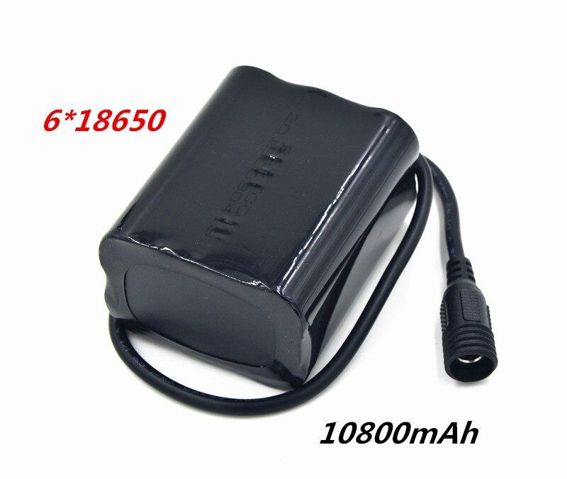 Велосипед света 10800 мАч 18650 Батарея pack 8.4 В для SolarStorm X2 X3 T6 Лампы для мотоциклов + 8.4 В Батарея Зарядное устройство