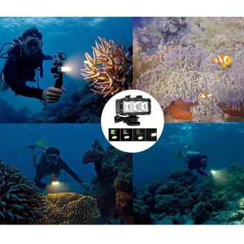 LumiParty LED Diving Light Outdoor Waterproof Lighting Tools for Underwater Search Rescue Photography scuba dive light