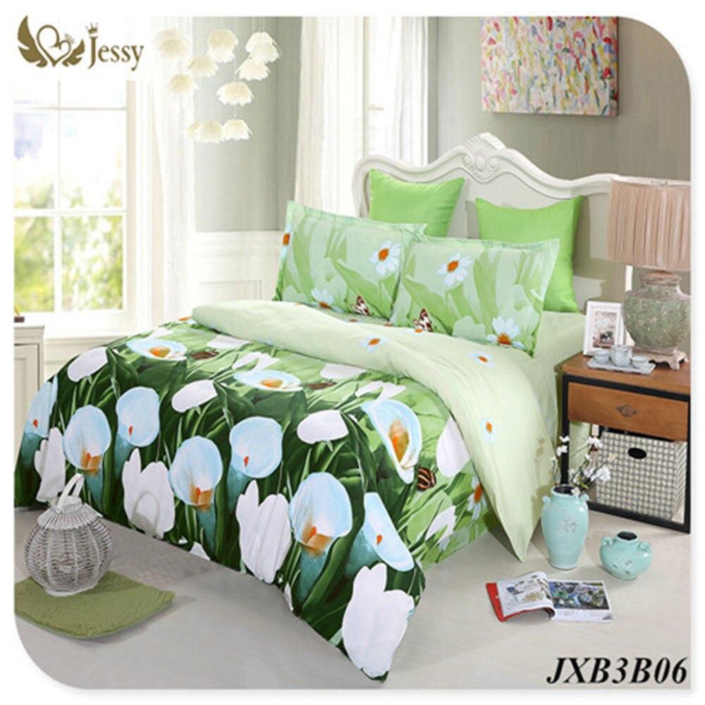 3D Luxury Bed Linen Romantic Print Bedspread Red Rose Flower Bedclothes 3D Bedding Set 3D Duvet Cover Set Queen King 4pcs Gift