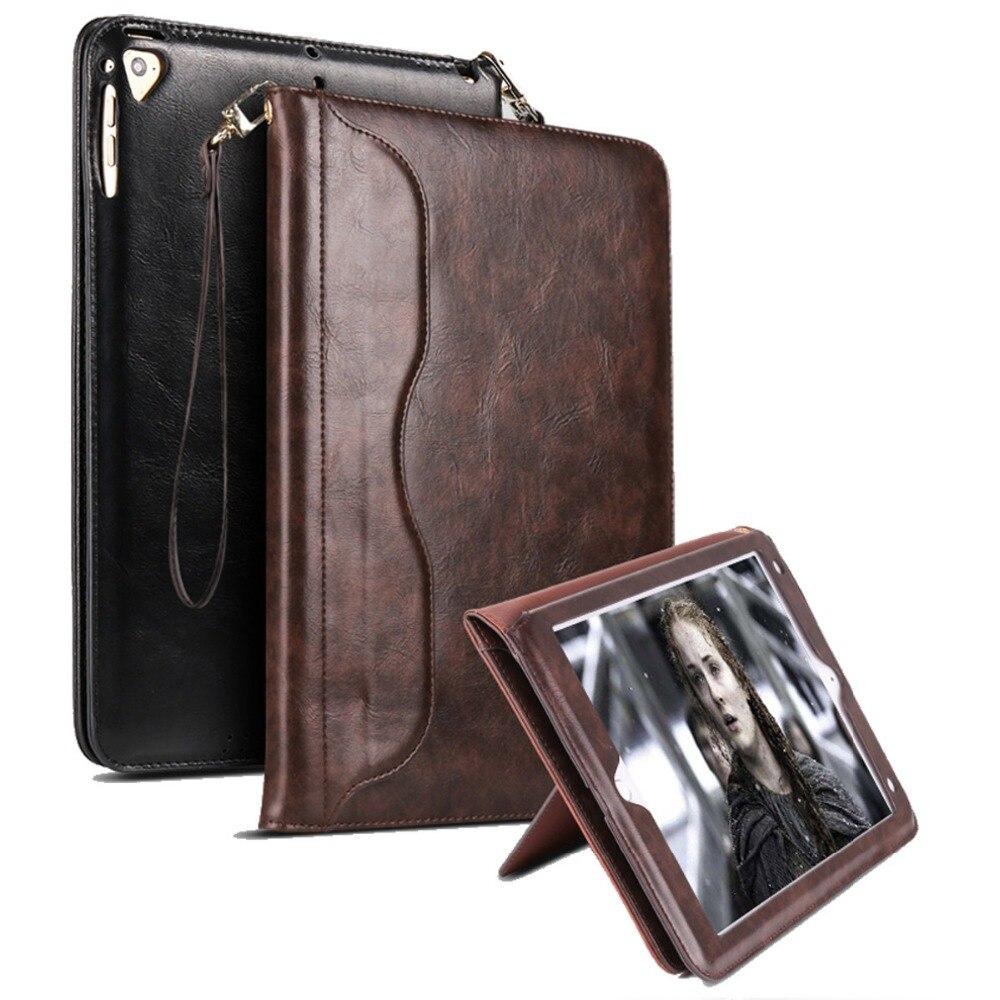Embrayage Sac Style Cas Pour iPad Mini 1 2 3 4 Coque Capa Premium En Cuir Stand Cas Smart Auto Réveil /Couverture sommeil pour iPad Mini