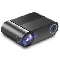 Yg550 Mini Projektor Home Theatre System Led Projektor  2400 Lumen  1280X720 Hd  video Beamer Hdmi Usb 1080P Wifi Eu-stecker