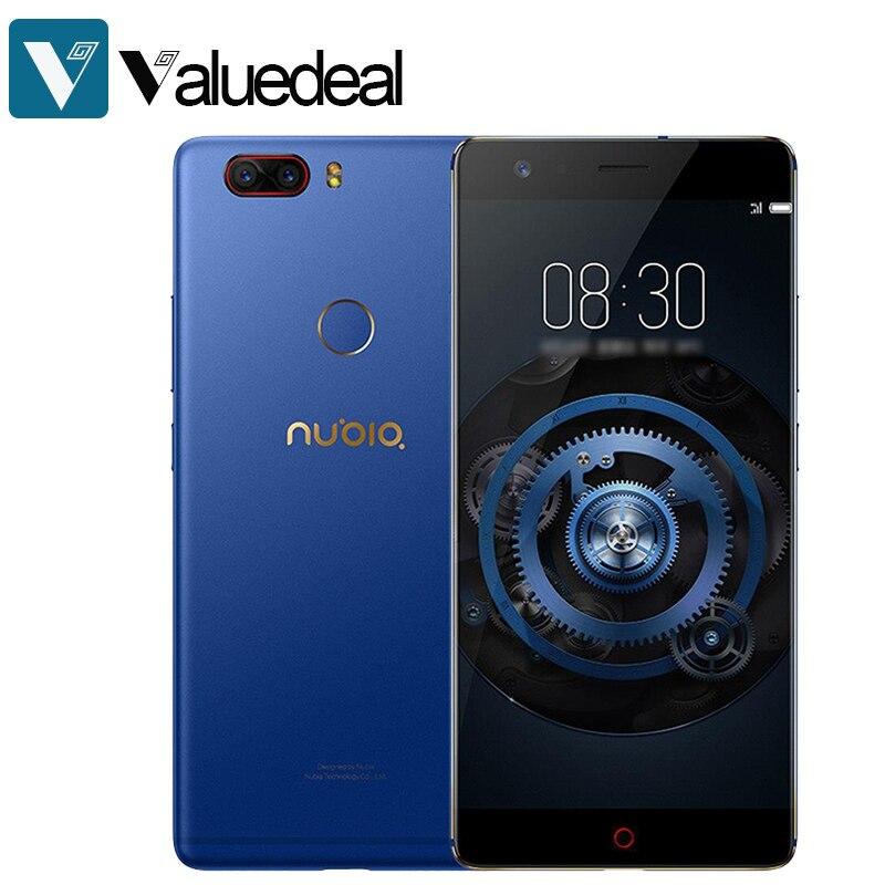 En existencia Global Nubia Z17 Lite Android 7,1 5,5 pulgadas 4G LTE Smartphone 6 GB 64 GB 13.0MP Dual cámara trasera Octa Core teléfono