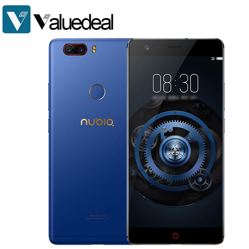 In stock Global Nubia Z17 Lite Android 7.1 5.5 Inch 4G LTE Smartphone 6GB 64GB 13.0MP Dual Rear Camera Octa Core phone