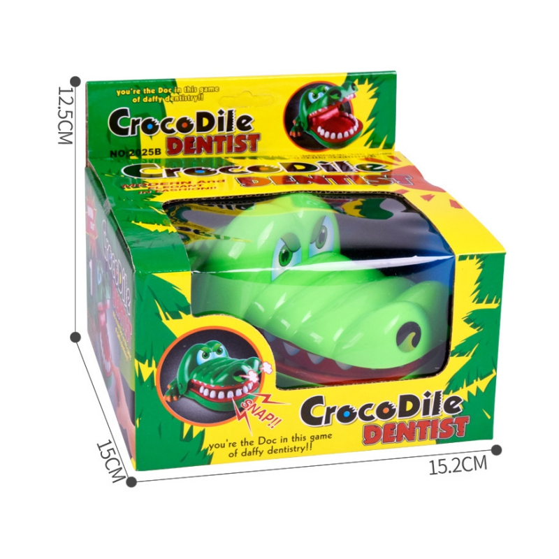 Creative Bite Hand Toys Prank Funny Alligator Crocodile Biting Finger Family game toys Novelty Toys ...
