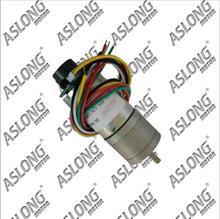 ASLONG JGA25-371 gear motor with encoder speed motor encoder