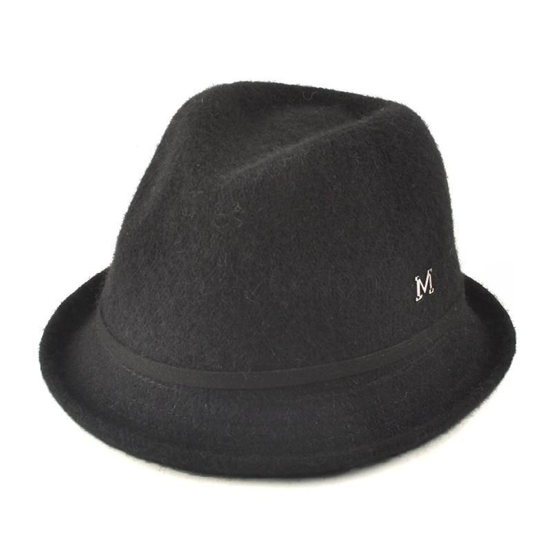 Wipalo Classic women's Wool Felt Hat Gangsters Traditional Godfather Mafia Cap Fedora fashion casual autumn women Fedora Hat