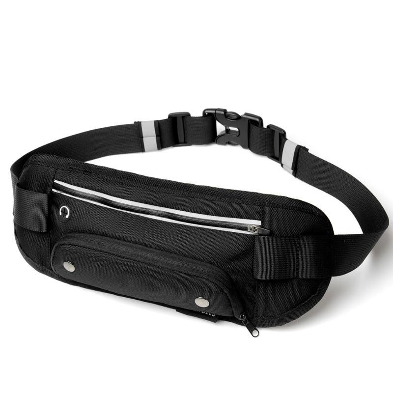 Running Waist Bag Bottle Outdoor Sports Running Bag Belt Mobile Phone Holder Jogging Belt Belly Bag Gym Fitness trail waist Bag in Running Bags from Sports Entertainment