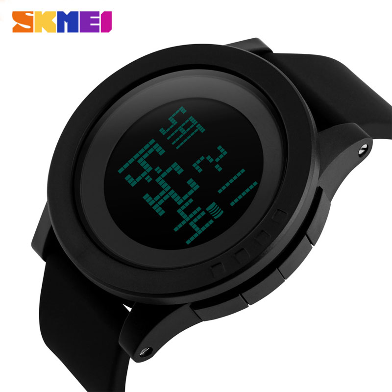 Men And Woman Sport Watches Casual LED Digital Watch  Military Wristwatch 1142 2018