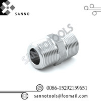 High quality 3/4 inch npt connection thread length 52mm    stainless Steel male connector npt thread union pipe fittings|Drill Bits| |  -