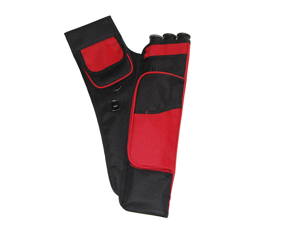 Red arrow bag arrow case arrow quiver for hunting shooting archery sports game