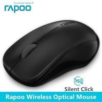 Rapoo 1680 2 4Ghz Wireless Optical Mouse Mute Silent Click Mini Noiseless Mice 1000 DPI For