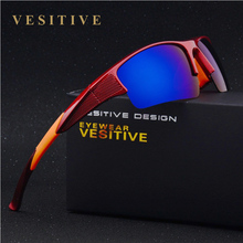 VESITIVE New Fashion Men Sunglasses Polarized Designer Travel Driving Square Male Eyewear Glasses gafas oculos de sol V8511