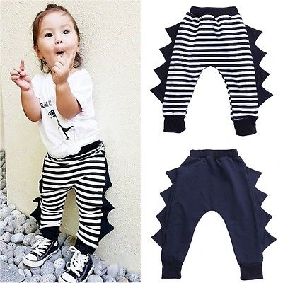 2016 wholesale toddler baby boy girls baggy harem pants sweatpants joggers cotton bottoms