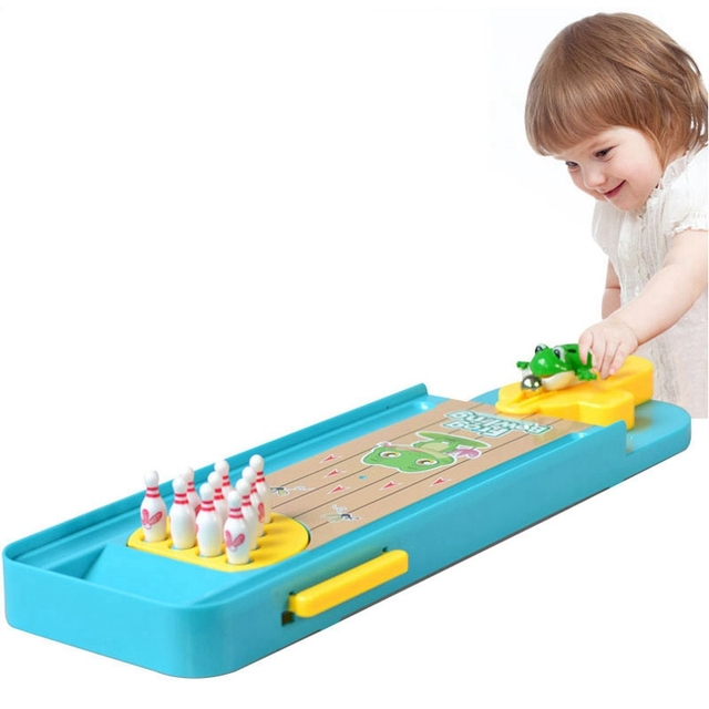 Bébé jeu de société Mini Bowling drôle jouets dintérieur pour enfants Parent-enfant interactif jeux de Table pour enfants jouets éducatifs jeux