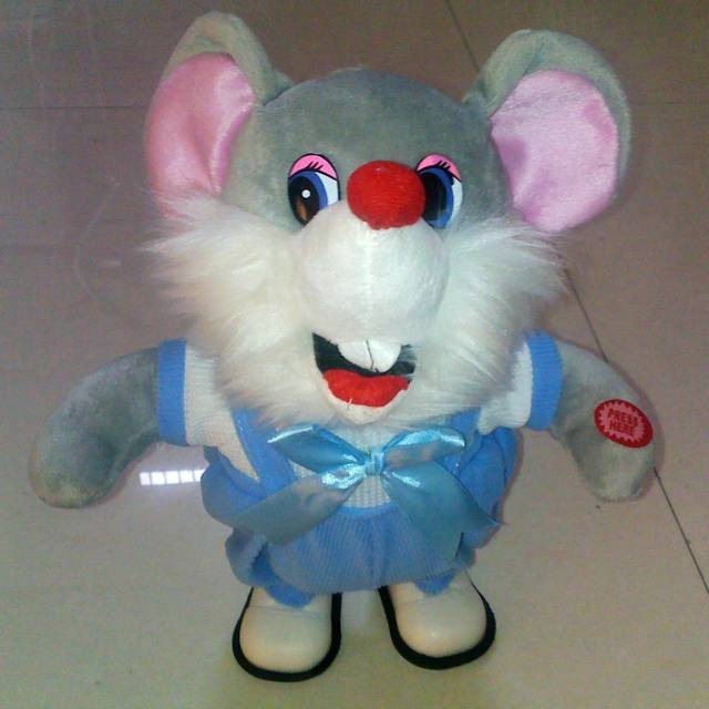 Music doll band music mouse electric plush toys electric mouse