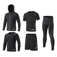 New Kids Running Sets Youth Basketball GYM Sport Kit Clothing Fitness Shorts Tennis Shirts Leggings Jackets Suit T Shirt Clothes