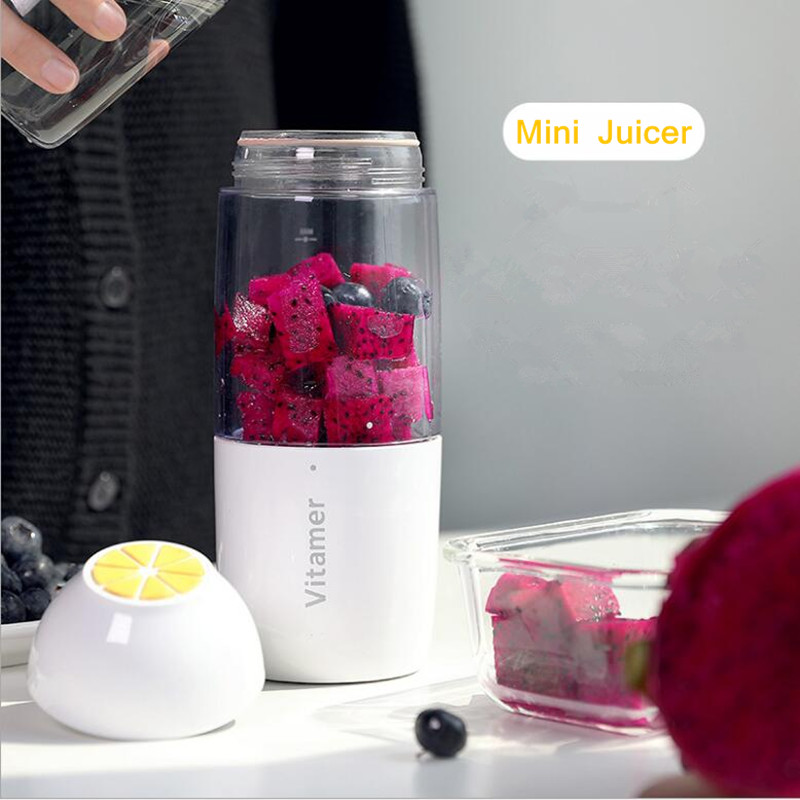 Mini Juicer USB Charging Mode Portable Charging Treasure Function Small Juicer Blender Egg Whisk Fruits Mixer mini portable charging foldable
