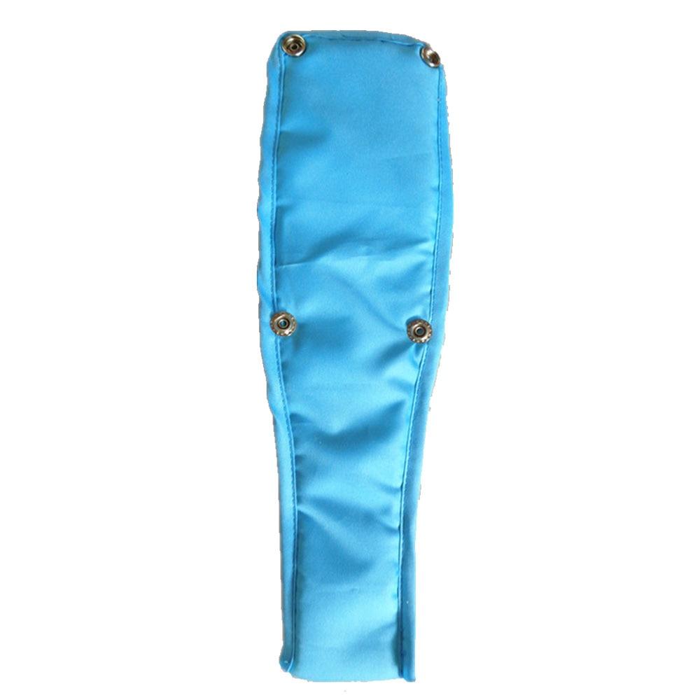 Высококачественная безопасная коляска с передним ремнем Ткань Оксфорд многоцветная Нескользящая лента бампер детская коляска бампер - Цвет: blue