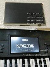 מקורי KORG תצוגה עם מסך מגע Digitizer עבור Korg קרום LCD תצוגת מסך מגע פנל
