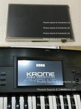 KORG pantalla LCD Original con Digitalizador de pantalla táctil para Korg KROME, Panel táctil