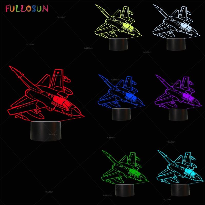 3d lamp aircraft