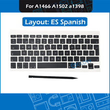 New Keycap set ES Spanish AP08 AP11 for Macbook Air Pro Retina 13″ 15″ A1466 A1502 A1398 Keycaps with Tool Replacement