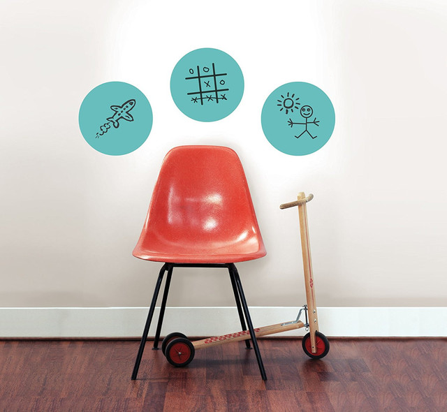 New Dry Erase Wall Decals Dots For Marker Wall Sticker Graffiti For Kids 3  Pcs