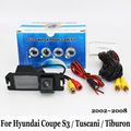 For Hyundai Coupe S3 / Tuscani / Tiburon 2002~2008 / RCA Wire Or Wireless HD Wide Lens Angle CCD Night Vision Rear View Camera