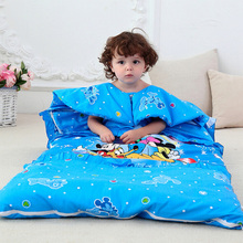 Animal Baby Sleeping Bag For Children , 150x155cm Fall And Winter Keep Warm Prevention Kicking Quilt Cotton Sleepsacks