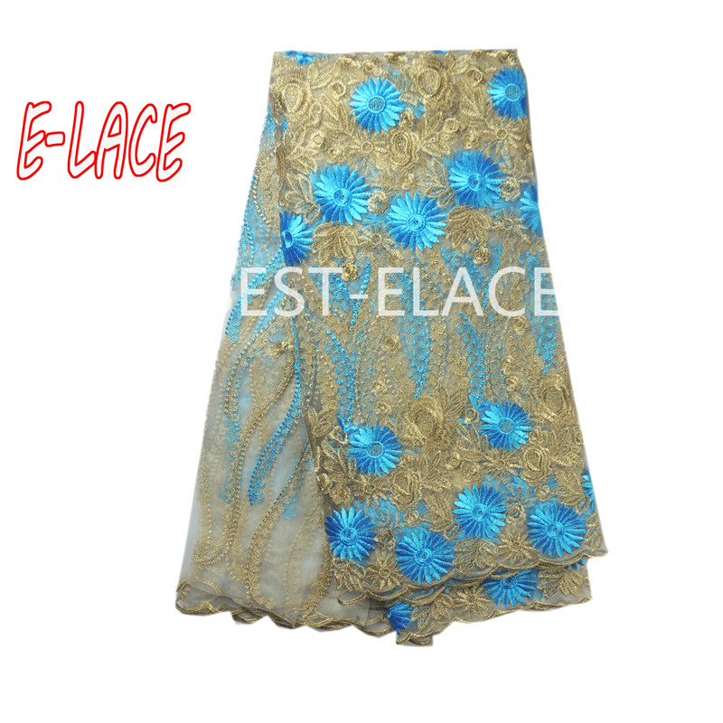High Quality African Tulle Lace Fabric Gold Color French Lace Fabric Wedding Party From Paypal Accepted Stores 1703b1012d12