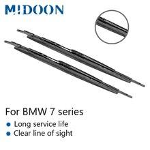 MIDOON Wiper Blades for BMW 7 Series E65 E66 E67 E68 F01 F02 F03 F04 730i 735i 740i 745i 750i 760i 730d 740d 745d 730i/Li