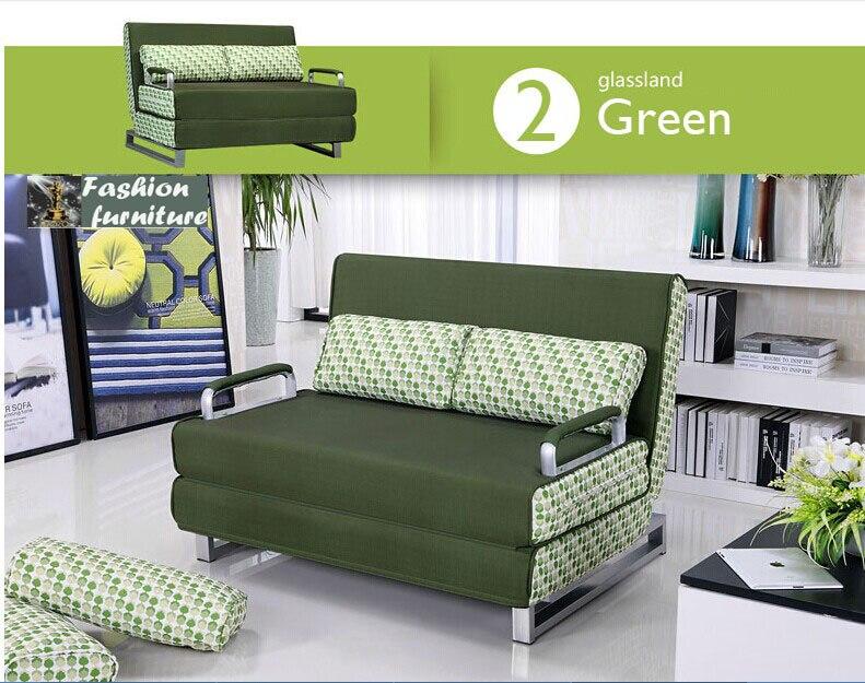 sofa lipat. toko online 100 katun sofa bed ketahanan tinggi busa spons lipat set multifungsi ruang logam 1519 6 warna aliexpress