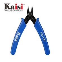 Kaisi 45 Angle Micro Cutter Plier Electric Cutter Excellent Cutting Pliers Bending Diagonal Plier (Max 0.1 - 1.0 mm) wlxy wl 401 4 5 diagonal plier orange black