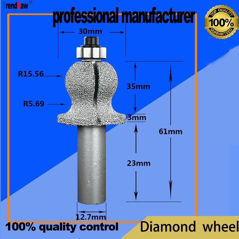deimantinis diskas, skirtas marmurinėms granito plytoms ir stiklo - Ašmenys pjūklams - Nuotrauka 2