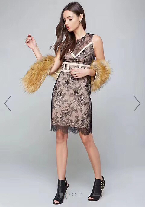 New Arrival Black Lace Bandage Dress 2018 Sexy Celebrity Evening Party Dress Women Dress Club Dresses