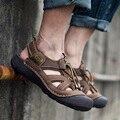 Hombres Sandalias de Cuero Sandalias de Los Hombres Zapatos de Verano Hombres Sandalias de Playa Sandalias Hombre Sandalias Hombre Sandalias Homme