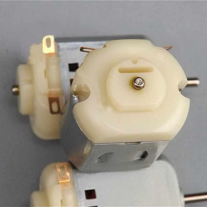 1 חתיכה 130 DC מנוע מיקרו מנוע עבור DIY ארבעה-גלגל מנוע קטן כונן ניסויים מדעיים