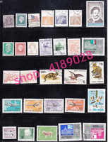 100% genuine products, stamps from all countries, 500 piece, antiques collectibles.
